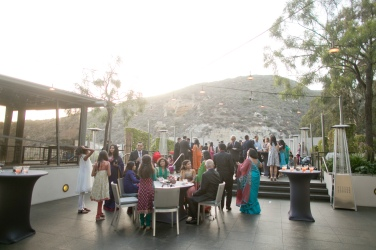 Your guests will love the outdoor space for the ceremony and cocktails - with views od Laguna Hills.