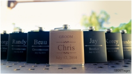 A small gift for the bridal party - is a nice touch.