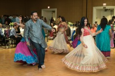 Their garba, wedding and reception were at the Fairmont; which meant the hotel was more flexible in pricing and services.
