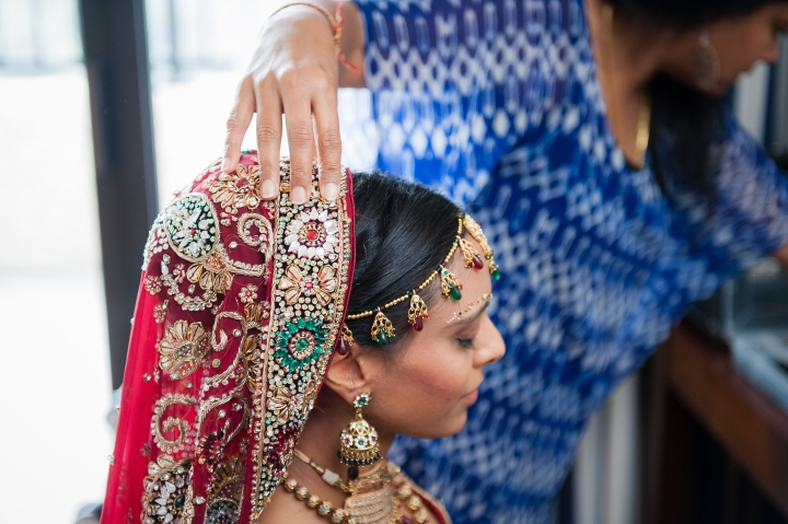 Take your dupatta with you to your makeup trial