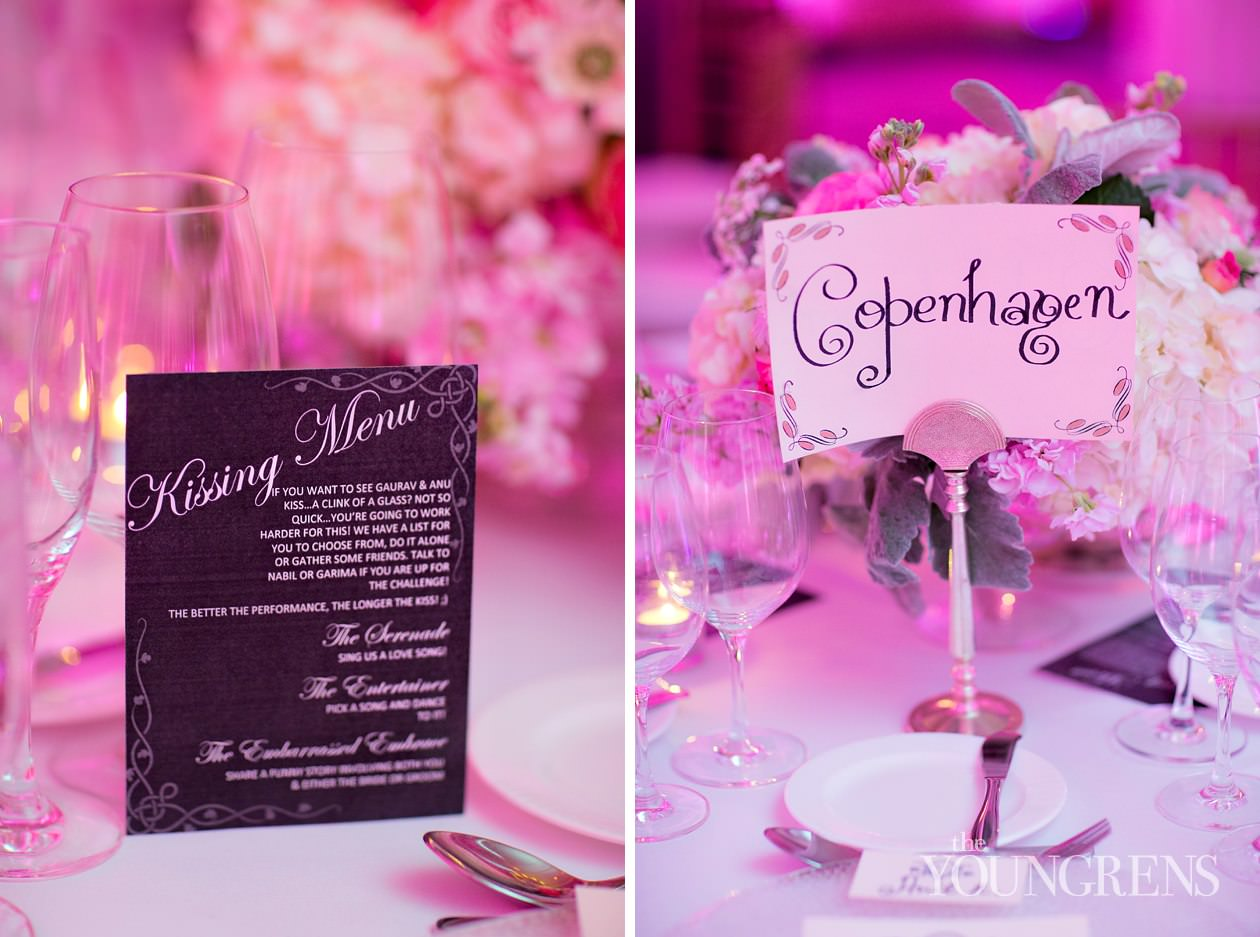 Kissing Menus and a Glamorous Gown – Anu and Gaurav\'s Destination ...
