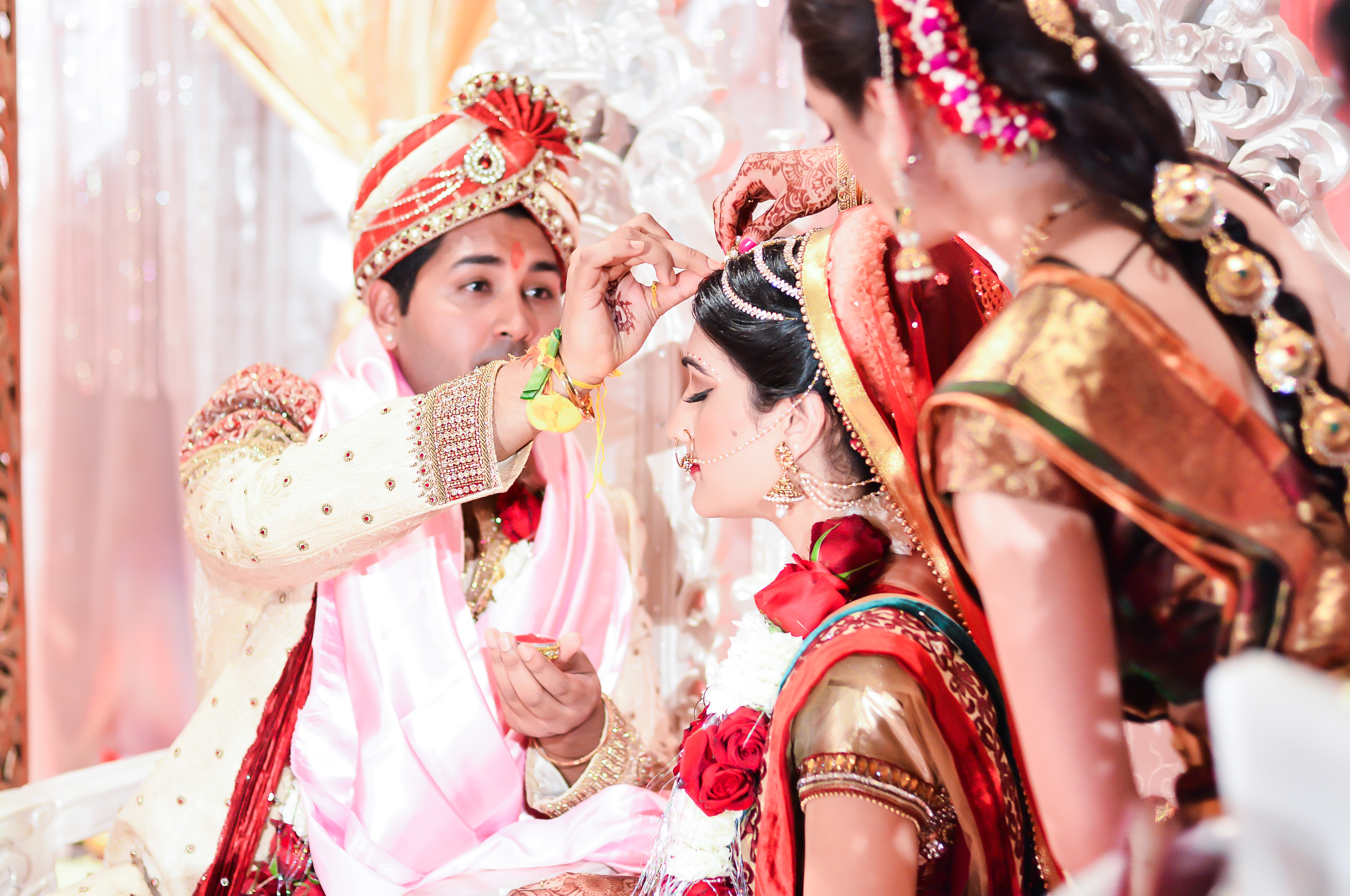 A model wedding…literally. Shilpa and Sudhir, Pacific Palms Resort ...