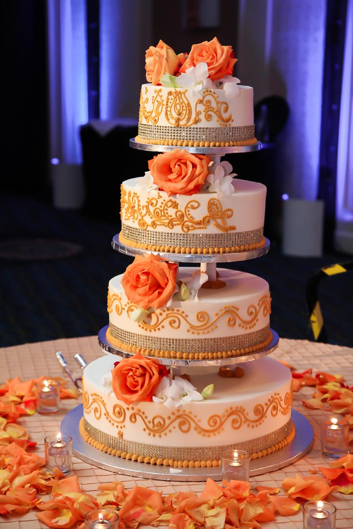 Mehndi Cake Quotes : Indian wedding reception cake mishap u venues in