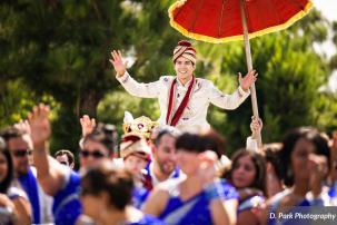 Steve LOVED the baraat!
