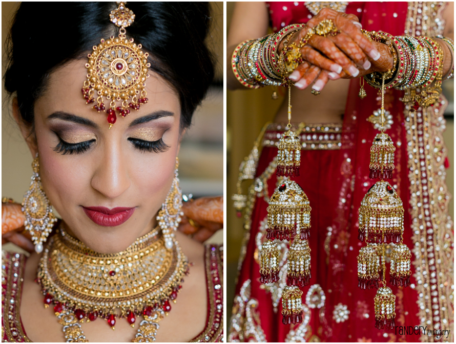 Gorgeous Golden Gown Sonia And Ravi Hilton Irvine Indian Wedding Venues In Southern
