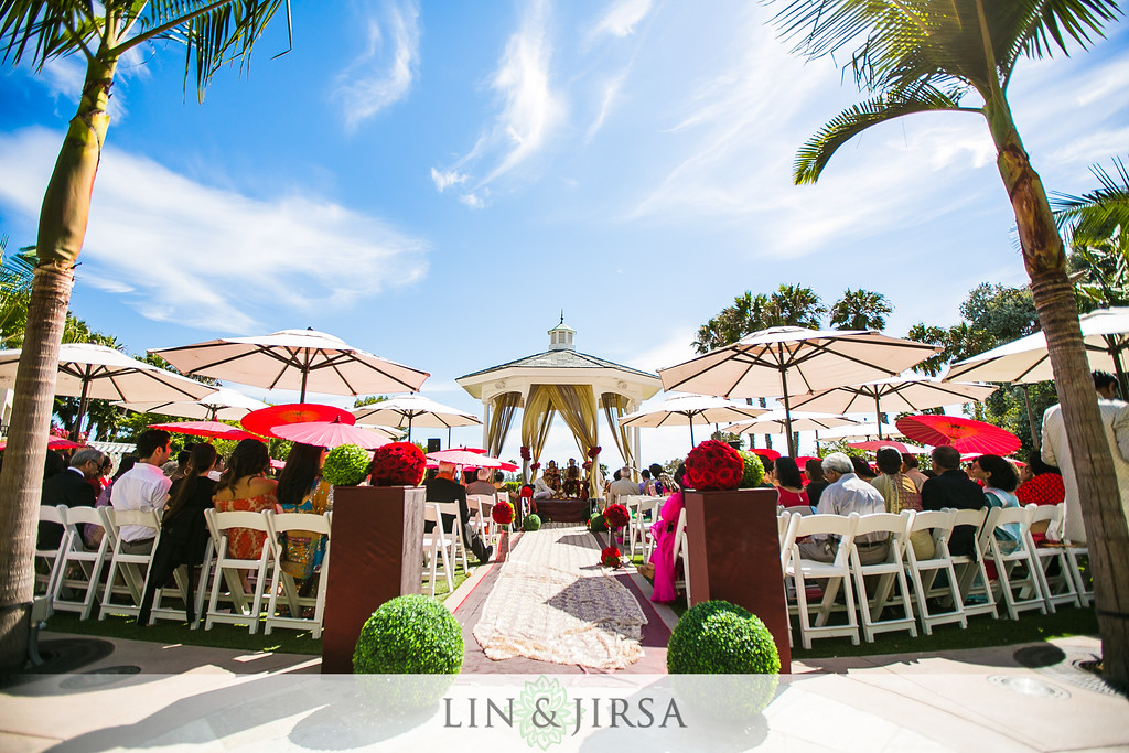 the rose garden wedding venue at the newport beach marriott hotel and spa linandjirsa