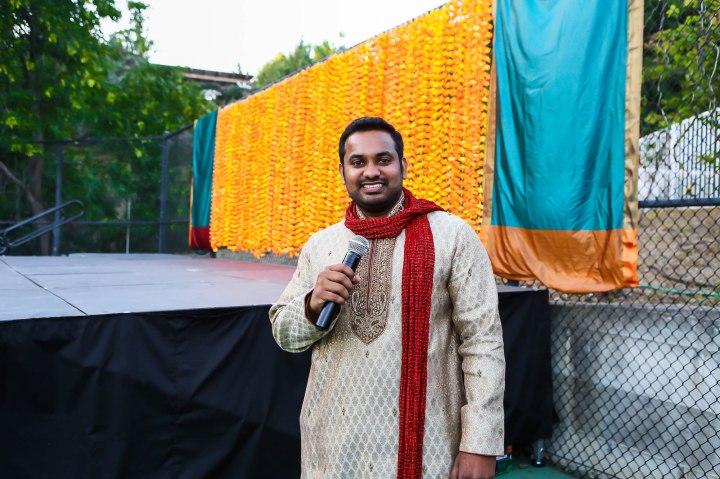 Aditya Vempaty also MCd that evening