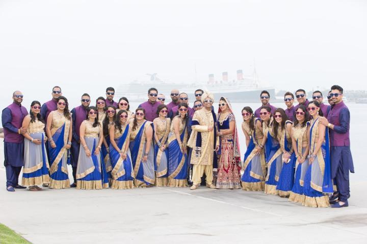 Payal_Sahil_Bridal_Party