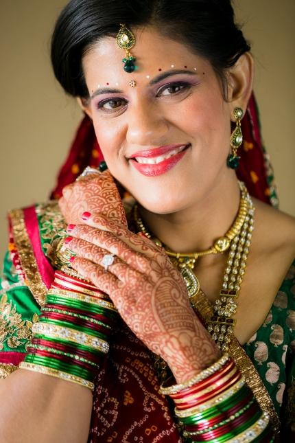 Newport-Beach-Indian-wedding-South-Asian-ceremony-Hindu-Jain-photoshoot-bride-makeup