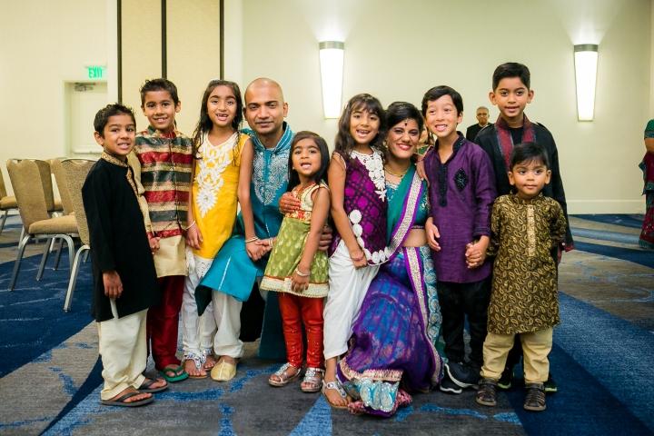 garba-sangeet-Indian-wedding-Newport-Beach-Marriott-children