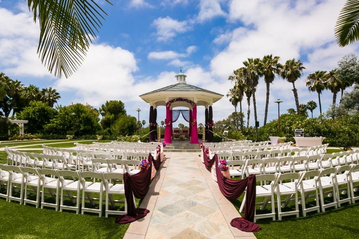 Newport-Beach-Indian-South-Asian- wedding-South-Asian-Rose-Garden-ceremony-Hindu-Jain