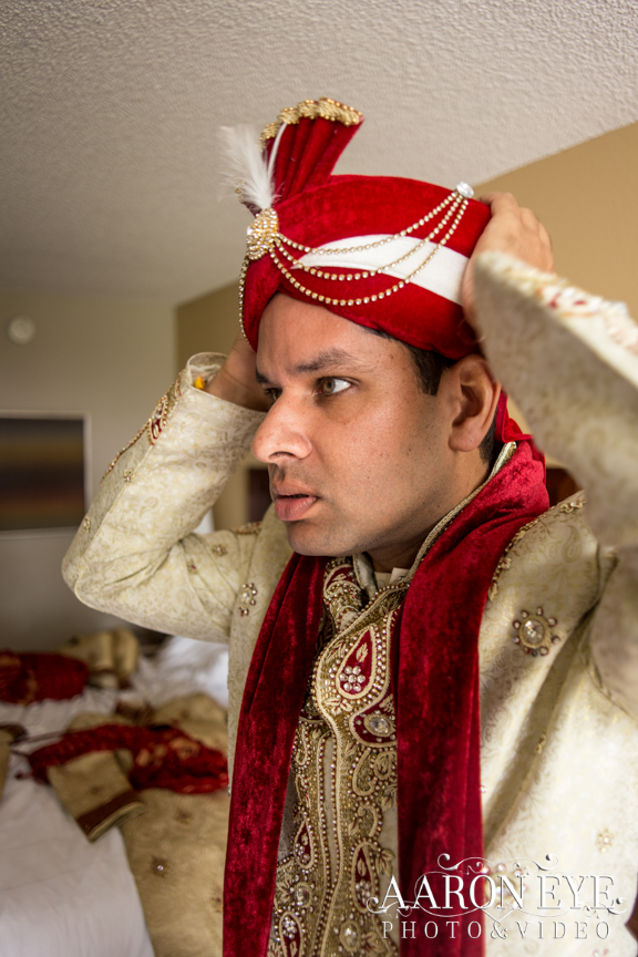 Groom-dulha-Indian-wedding-newport-beach-marriott-sera-baraat-sherwani-South-Asian-wedding