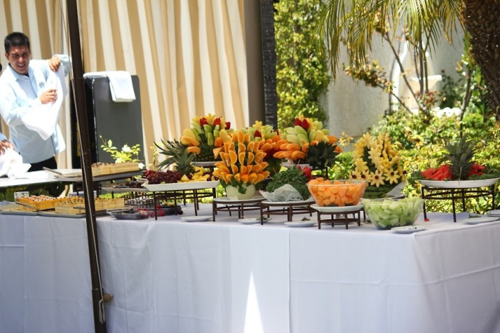 Newport-Beach-Marriott-indian-wedding-catering-fruit-display