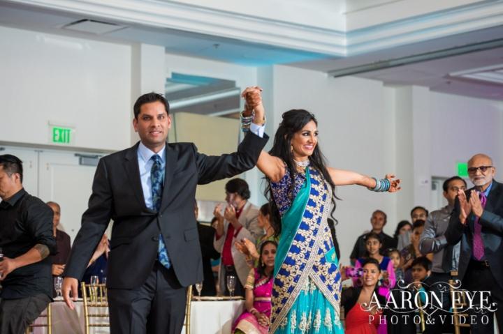 Reha-Vijay-Newport-Beach-Marriott-South-Asian-wedding-Indian_wedding-Hindu-Jain-North_Indian-grand-entrance-ballroom-Arron-Eye-Photography-DJ-Sukh