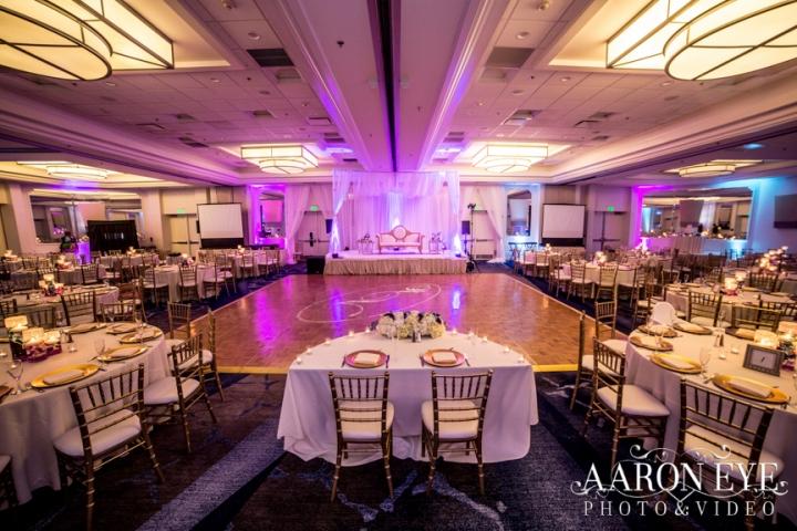 Reha-Vijay-Newport-Beach-Marriott-South-Asian-wedding-Indian_wedding-Hindu-Jain-North_Indian-head-table-ballroom-Aaron-Eye-Photography-DJ-Sukh