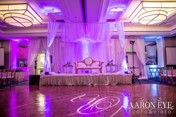 Reha-Vijay-Newport-Beach-Marriott-South-Asian-wedding-Indian_wedding-Hindu-Jain-North_Indian-sweetheart-table-ballroom-Aaron-Eye-Photograph