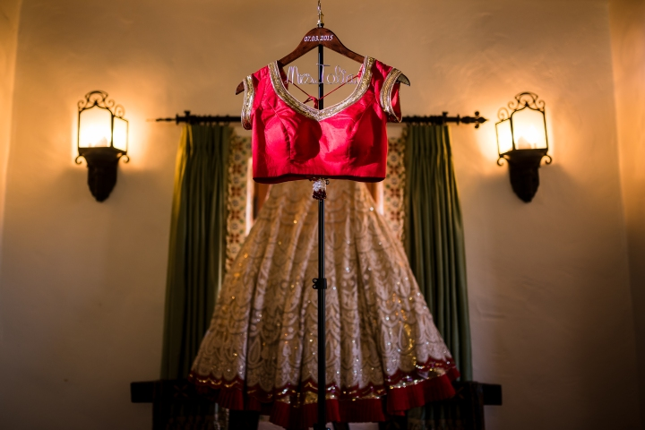 lehenga for an Indian wedding