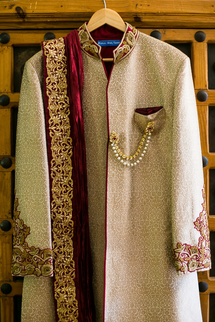 sherwani for Indian groom for his Indian wedding