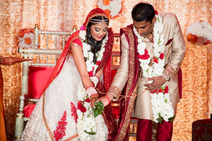 Hindi, Indian Gujarati wedding ceremony