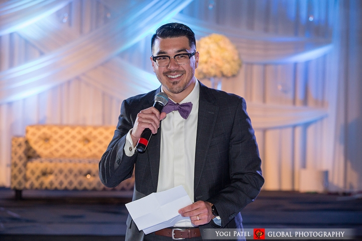 Indian wedding speech at reception