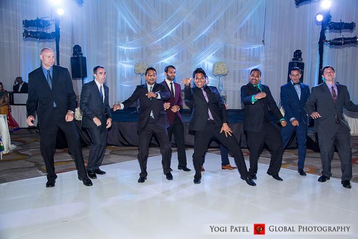 Indian wedding Bollywood dance.