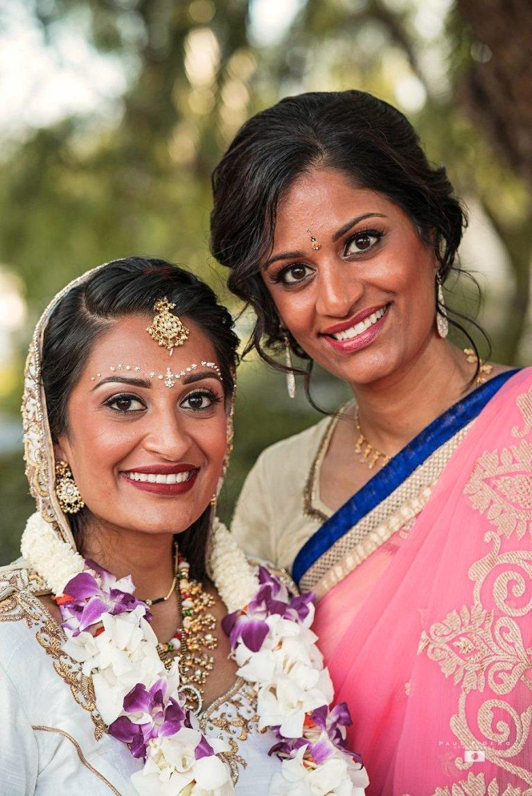 Indian-wedding-Taylor-Avni-Paul-Gero-Photography-South-Asian-wedding-Maid-Honor-Indian_bride-varmala-jaimala-sari-coral