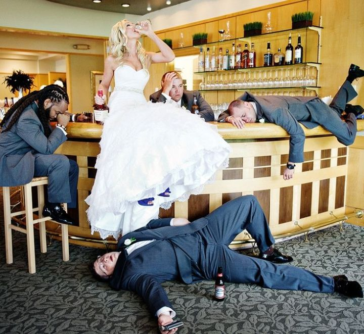 funny wedding photo 2