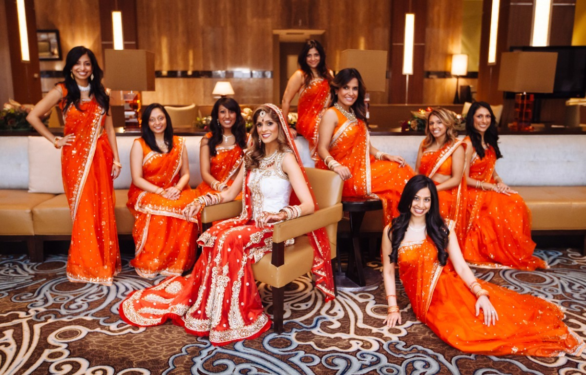Bridesmaid Photoshoot Poses Indian Wedding Venues In Southern California