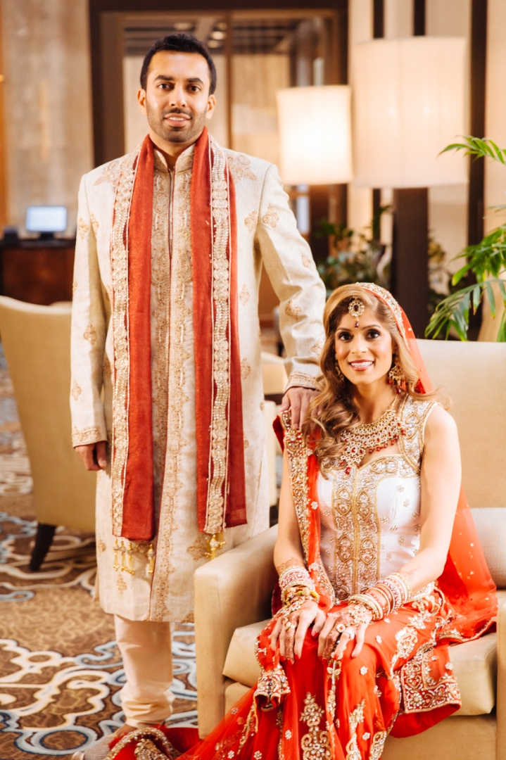 Shreta And Bharat Intercontinental Hotel Dallas Indian Wedding