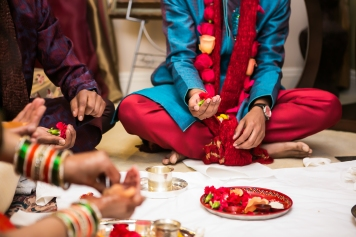 Neena-Chintan-Indian-wedding-venue-Hotel-Irvine-wedding-ceremony-groom-pooja