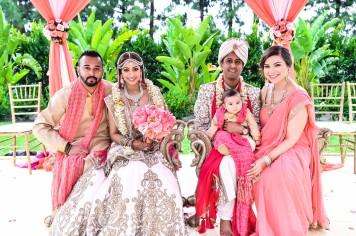 Neena-Chintan-Indian-wedding-venue-Hotel-Irvine-wedding-ceremony-Hindu-sibling-photo-mandap