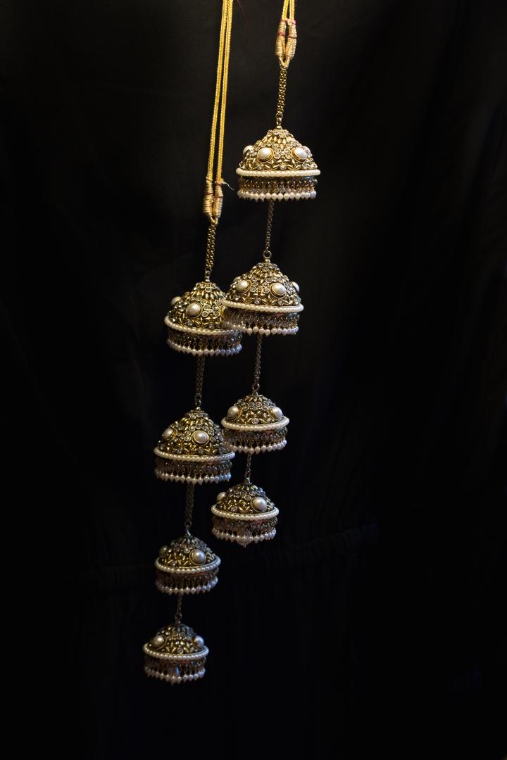 Indian, Punjabi bride's kalire