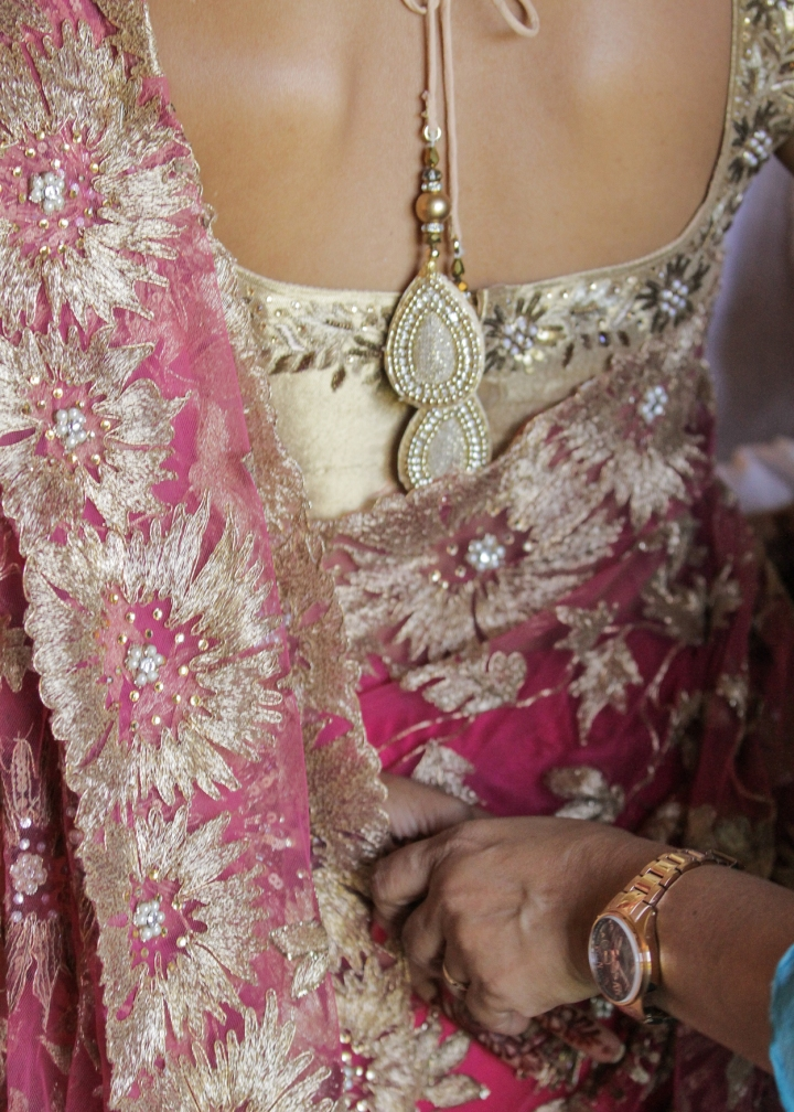 Ashmi-Suraj-Indian-wedding-venue-baraat-Hindu-Jain-San-Diego-reception-wedding-party-brides-sari
