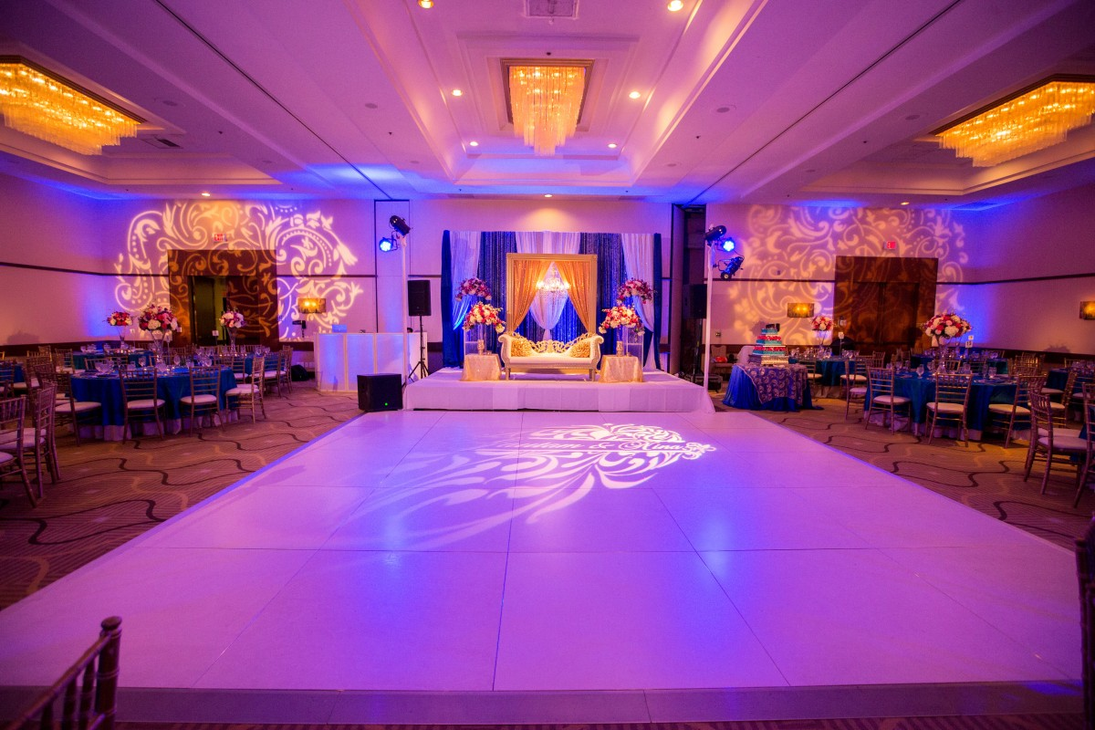 Pink Decor Indian Wedding Venues Southern California Northern