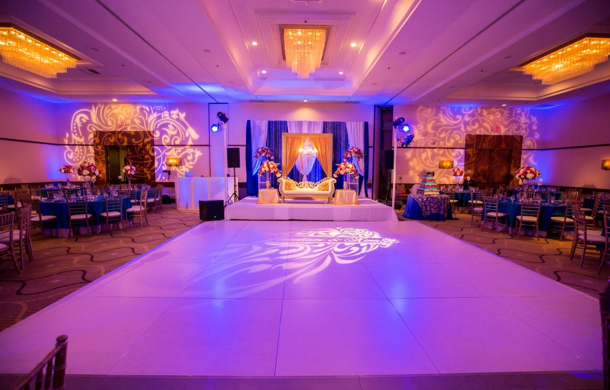 Blue And Pink Wedding Ideas: Royal Blue, Teal & Hot Pink Decor