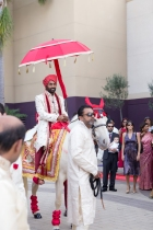 They allow a horse baraat