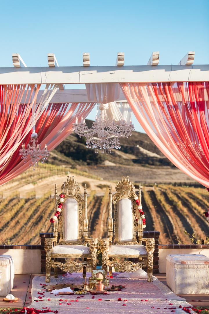 Indian-wedding-venue-Maneka-Mayur-winery-temecula-lehenga-Indian-wedding-photography-Hindu-ceremony-mandap