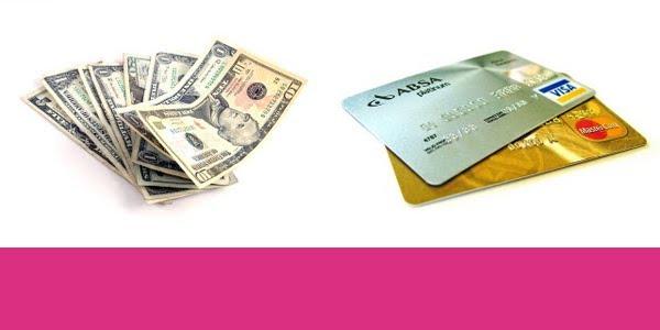 credit card v cash
