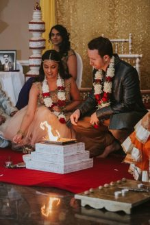 It's a small flame; photo: NST Pictures