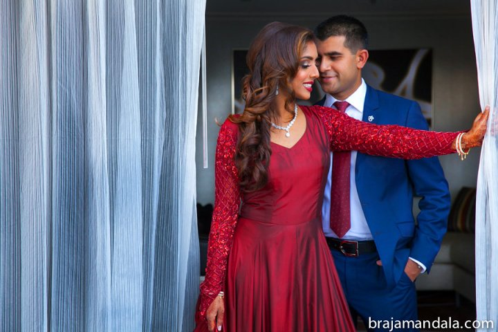 South-Asian-Wedding-reception-bride-groom-photoshoot