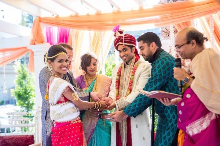 Konkani Wedding Sucheta And Rohan Sheraton Park At The Anaheim Resort Indian Wedding Venues