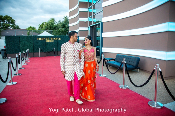 Mala Sandeep S Indian Wedding The Journey From The