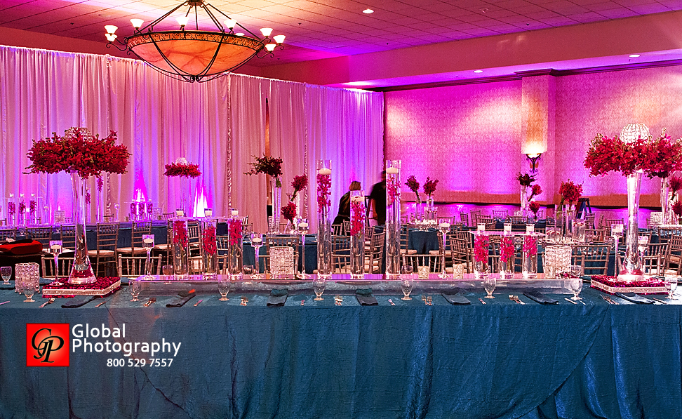 Basic Indian Wedding Reception Lighting If Youre On A Budget