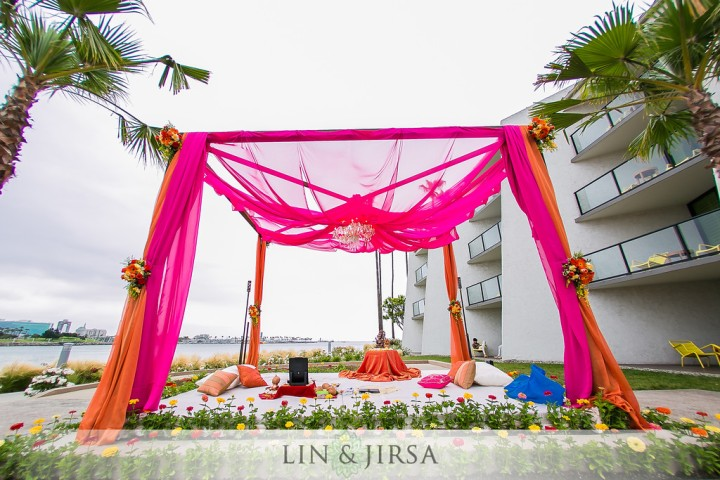 1-Hotel-Maya-Indian-wedding-South-Asian-ceremony-Hindu-Mandap-baraat-Vista del Mar-134