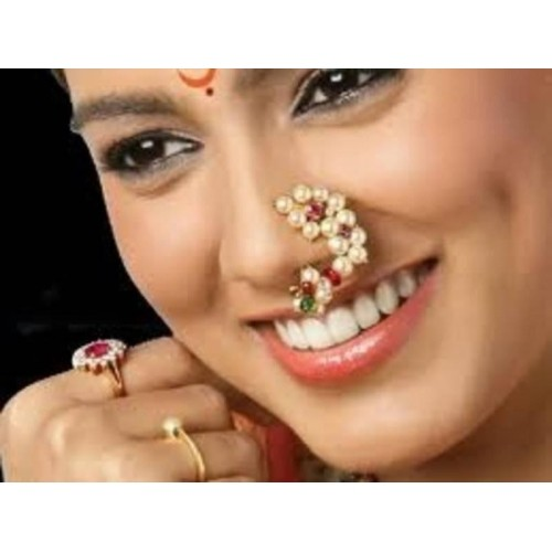 Marathi Nose Ring Online Shopping